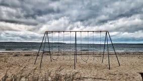 Stormachtig weer stock fotografie