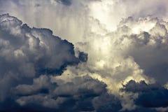 Stormachtige cloudscape Royalty-vrije Stock Fotografie