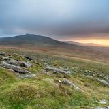 Stormachtige Dartmoor stock fotografie