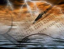 Stormachtige handel Royalty-vrije Stock Afbeeldingen
