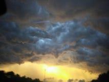 Stormachtige hemel Stock Afbeelding