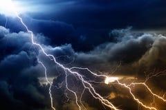 Stormachtige hemel Royalty-vrije Stock Foto's