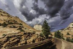 Stormachtige hemel Stock Foto