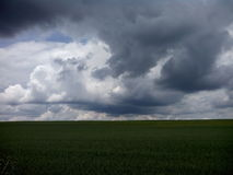 Stormachtige hemel Royalty-vrije Stock Fotografie