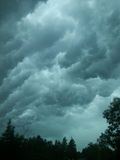 Stormachtige hemelen Stock Fotografie