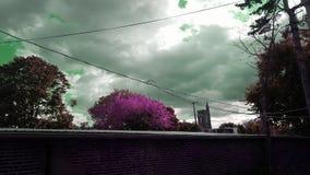 Stormachtige hemelen Royalty-vrije Stock Foto's