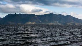 Stormachtige Kust - de Zwarte Zee Royalty-vrije Stock Foto