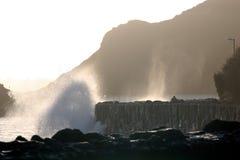 Stormachtige Overzees Royalty-vrije Stock Afbeeldingen