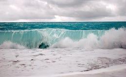 Stormachtige overzees Royalty-vrije Stock Afbeelding