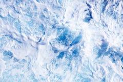 Stormachtige overzees op een zonnige dag Royalty-vrije Stock Afbeelding
