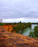 Stormachtige Riverland stock afbeelding