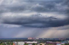 Stormachtige skyscape Royalty-vrije Stock Foto's