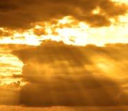 Stormachtige wolk stock afbeelding