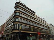 Stormarknad i Polen Arkivbild