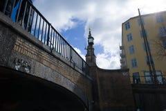 Stormbroen Bridge, Copenhagen. Storm bridge , an arc bridge in Copenhage, Denmark Stock Photos