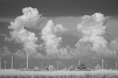 Stormclouds στο υπέρυθρο φως Στοκ φωτογραφία με δικαίωμα ελεύθερης χρήσης