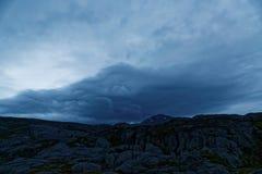 Stormclouds photo libre de droits