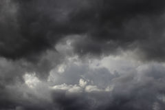 Stormclouds in the sky Royalty Free Stock Photography