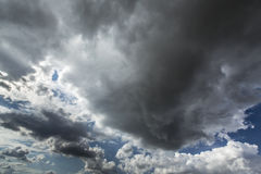 Stormcloudscape Arkivfoto