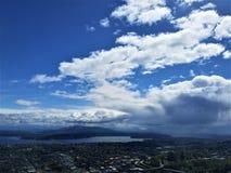 Stormen över Seward parkerar Arkivfoto