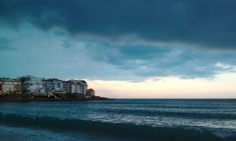 Stormen kommer Royaltyfria Bilder