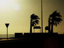 stormi 0020 Abend Lizenzfreies Stockfoto