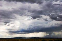 stormig cloudscape Fotografering för Bildbyråer