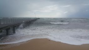 Stormig dag arkivbilder