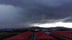 Stormig dag Fotografering för Bildbyråer