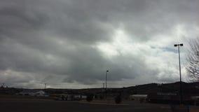 Stormig eftermiddag Arkivbilder