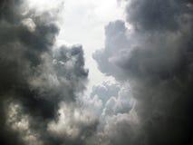 Stormig himmel Royaltyfri Fotografi