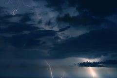 stormig sky Royaltyfria Bilder