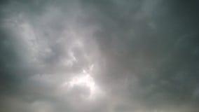 stormig sky arkivbild