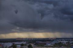 Stormig skyscape Arkivfoto