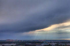 Stormig skyscape Royaltyfri Foto
