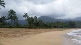 stormig strand Arkivbilder