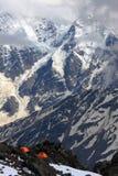 stormiga caucasus Royaltyfria Foton