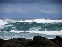 stormiga hav Arkivbild