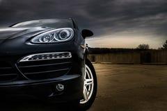 Stormiga Porsche Arkivbild