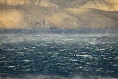 Stormiga vågor Arkivbild