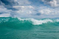 stormigt Adriatiskt hav Royaltyfri Foto