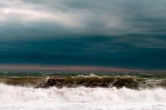 stormigt hav Royaltyfri Bild