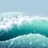 Stormigt hav Royaltyfri Illustrationer