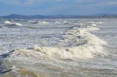 stormigt hav Royaltyfri Fotografi