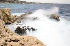 stormigt hav Arkivbilder