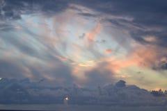 Stormigt slut av dagen Royaltyfri Foto