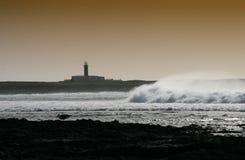 stormigt väder Arkivfoton