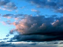 stormigt väder 3 Arkivfoton