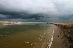 Stormigt väder Arkivfoto