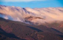 stormigt väder för berg Royaltyfri Fotografi